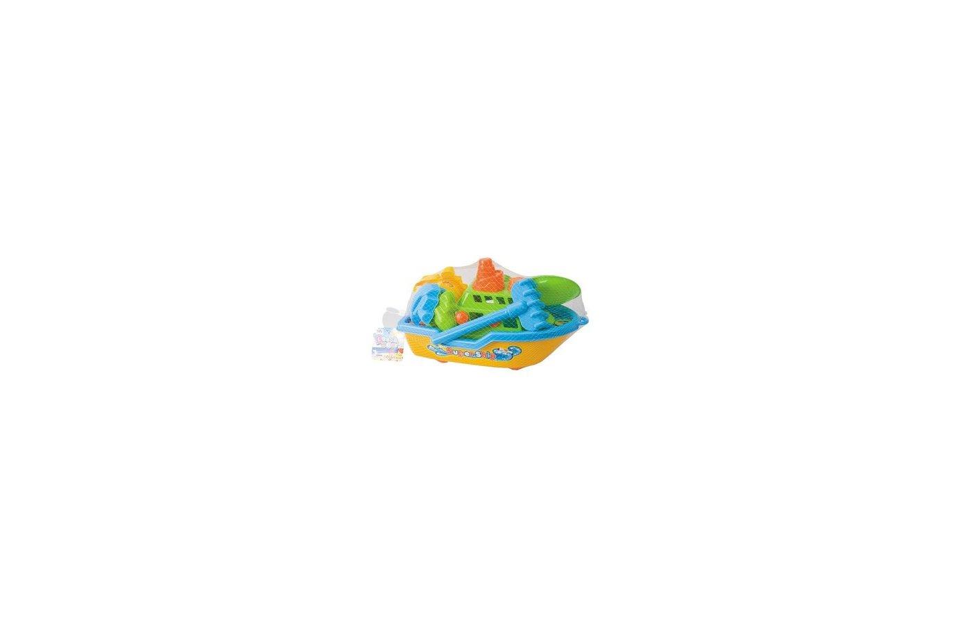 Hualian 8138 Набор для игр с песком и водой Кораблик