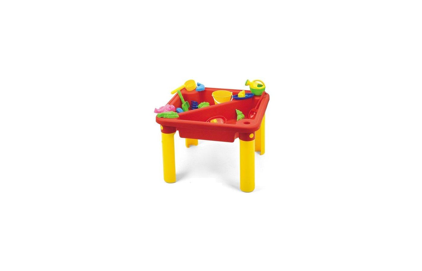 Hualian 8802 Стол с крышкой для игры с песком и водой Веселое время