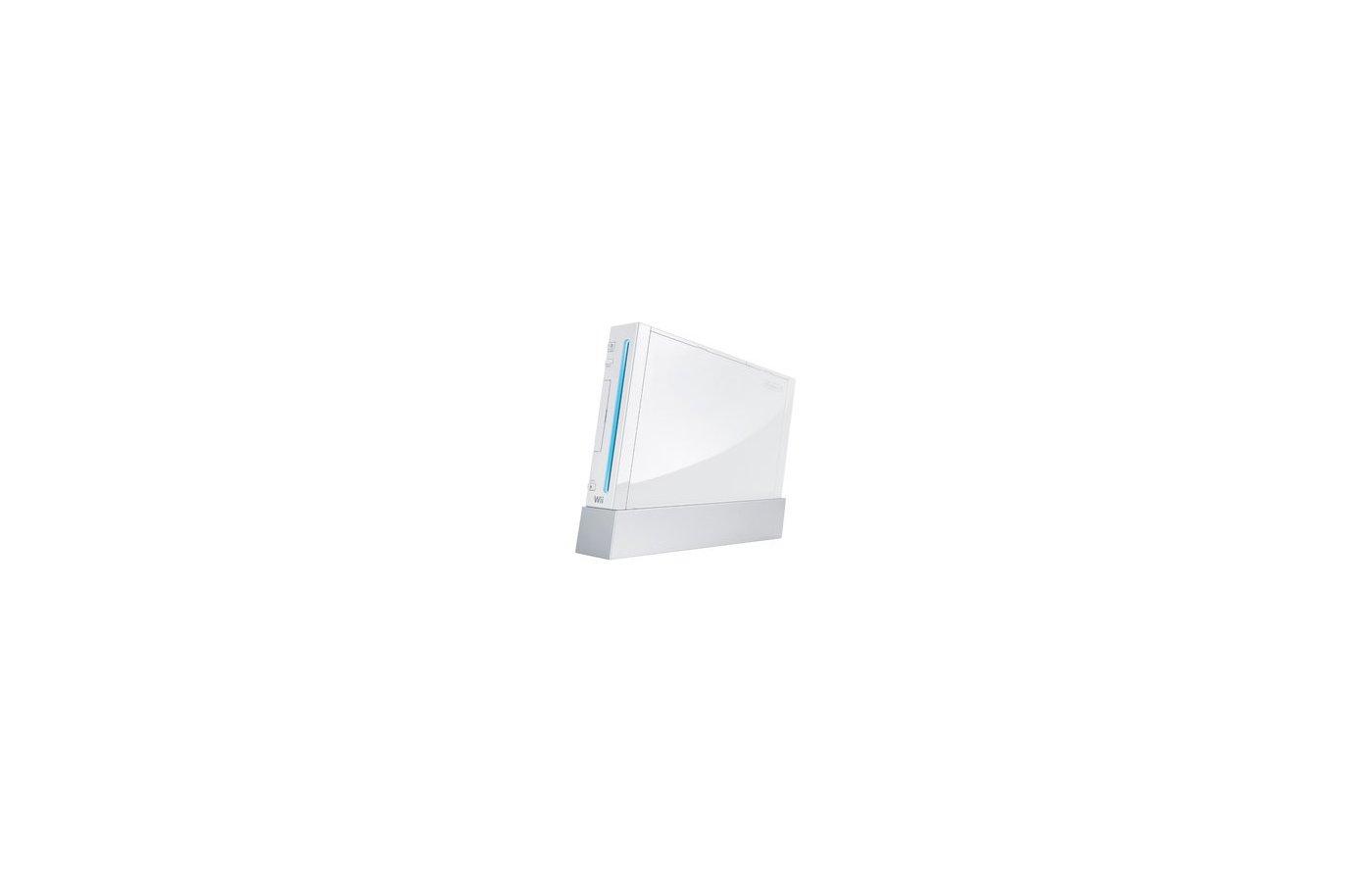 Игровая приставка NINTENDO Wii (105975) белый 2 игры: Wii Party и Wii Sport