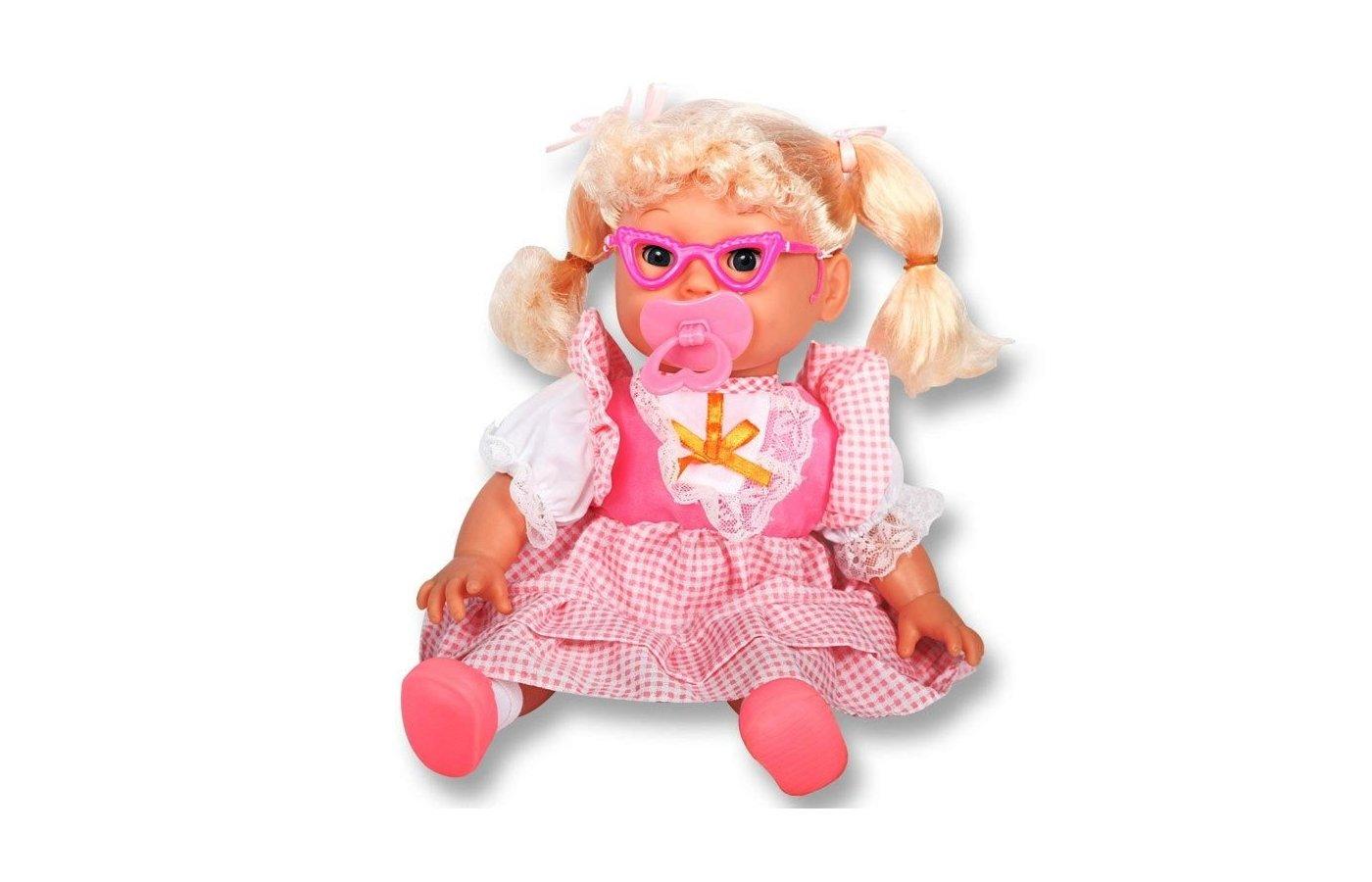 Игрушка DollyToy DOL0804-005 Интерактивная кукла Мамина умница