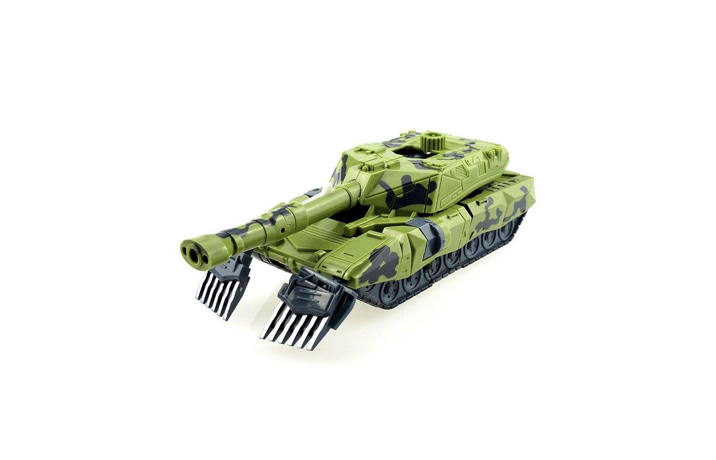 Робот Mengbadi 3305B Трансформер Танк-Агрессор зелёный