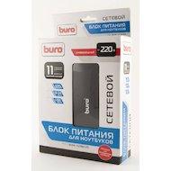 Фото Сетевой адаптер для ноутбука BURO BUM-1129М120 ручной 120W 12V-24V 11-connectors 1xUSB 1A от бытовой электросети