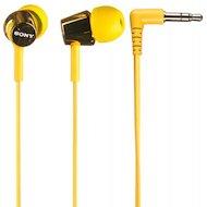 Фото Наушники вкладыши SONY MDR-EX150 желтый
