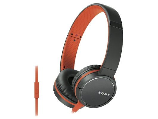 Гарнитуры SONY MDR-ZX660AP оранжевый