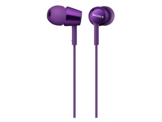 Наушники вкладыши SONY MDR-EX150 фиолетовый