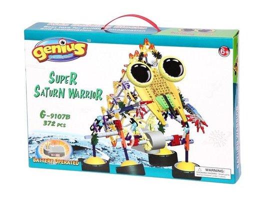 Конструктор Genius G-9107B Глазастики. Супервоин Сатурна