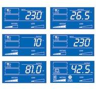 Фото Блок питания Tripplite Smart LCD SMX1500LCDT 1500VA черный вертикальном исполнении с ЖК-дисплеем и USB-портом, но
