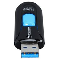Фото Флеш-диск Transcend 128Gb Jetflash 790 TS128GJF790K USB3.0 черный/синий