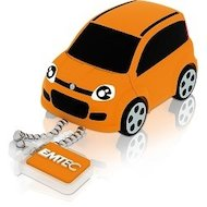 Фото Флеш-диск USB 2.0 8Gb Emtec F102 Fiat panda orange