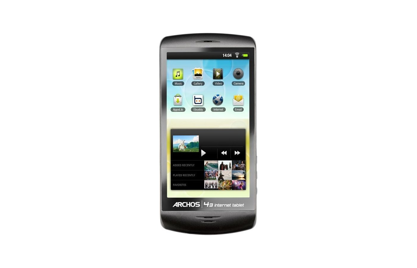 МР3 плеер Archos 43 internet tablet 8Gb