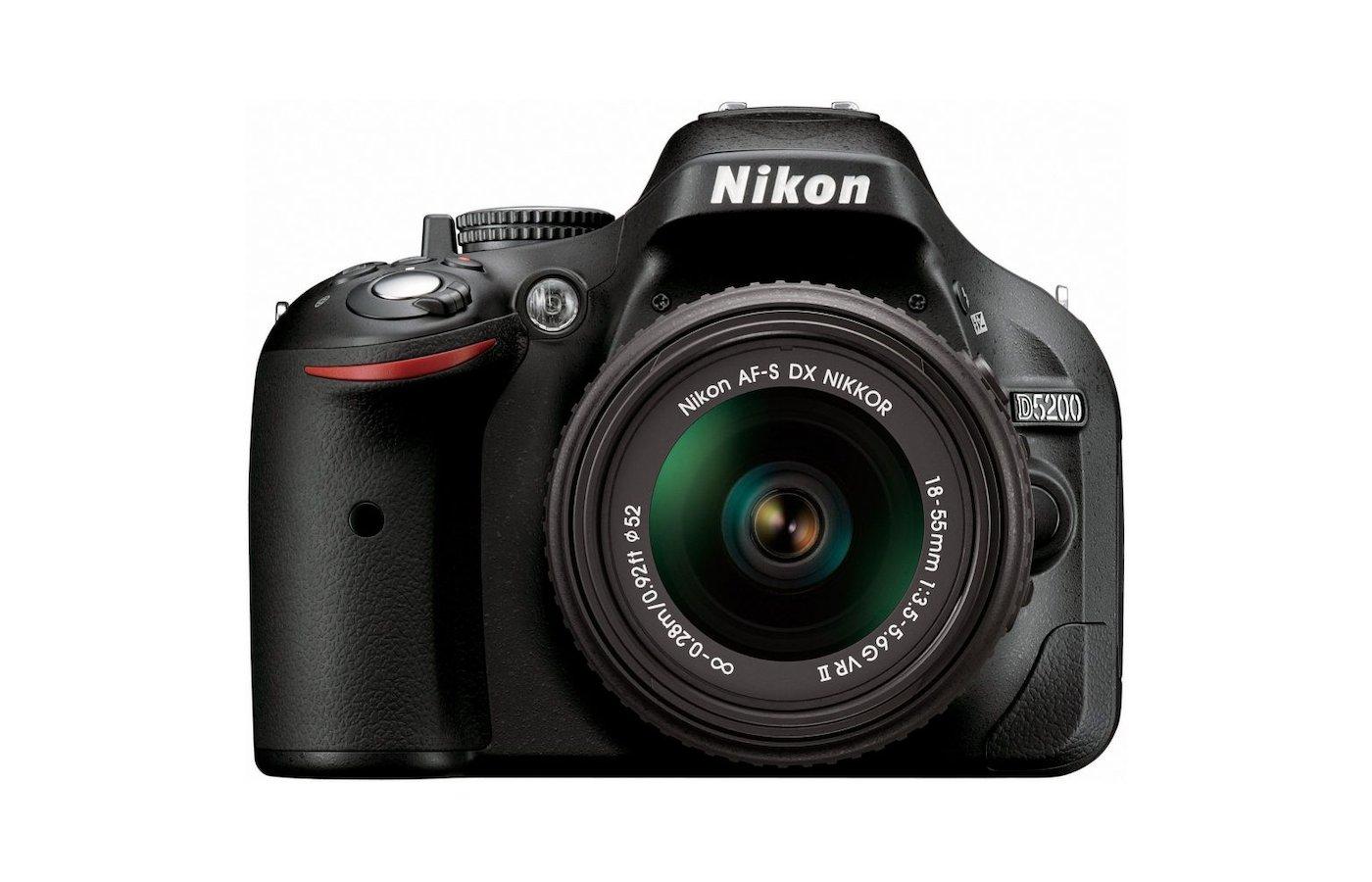 Фотоаппарат зеркальный Nikon D5200 18-55VR II +16GB+case
