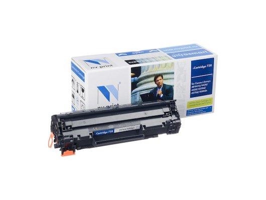 Картридж лазерный NV-Print совместимый Canon 728 для MF4580dn/4570dn/4550dn/4450/4430/4410/HP LJ Р1566/Р1606W/ Черный.