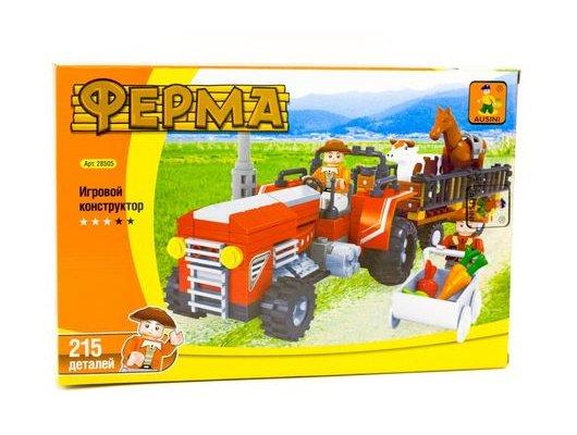 Конструктор AUSINI 28505 Ферма. Перевозка скота