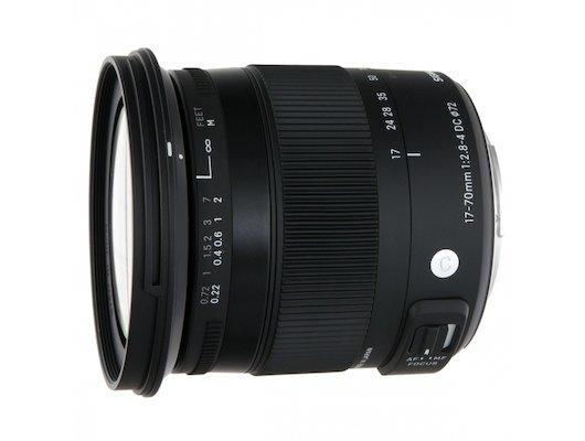 Объектив Sigma AF 17-70mm f/2.8-4.0 DC Macro OS HSM new Nikon F