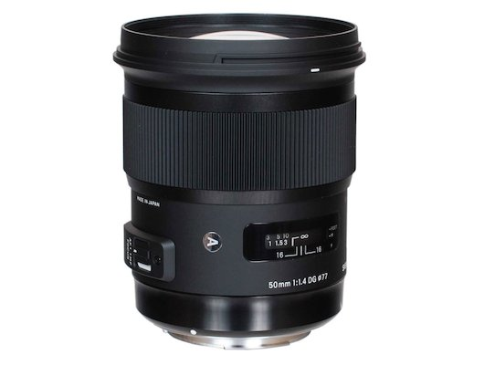 Объектив Sigma AF 50mm F/1.4 DG HSM для CANON