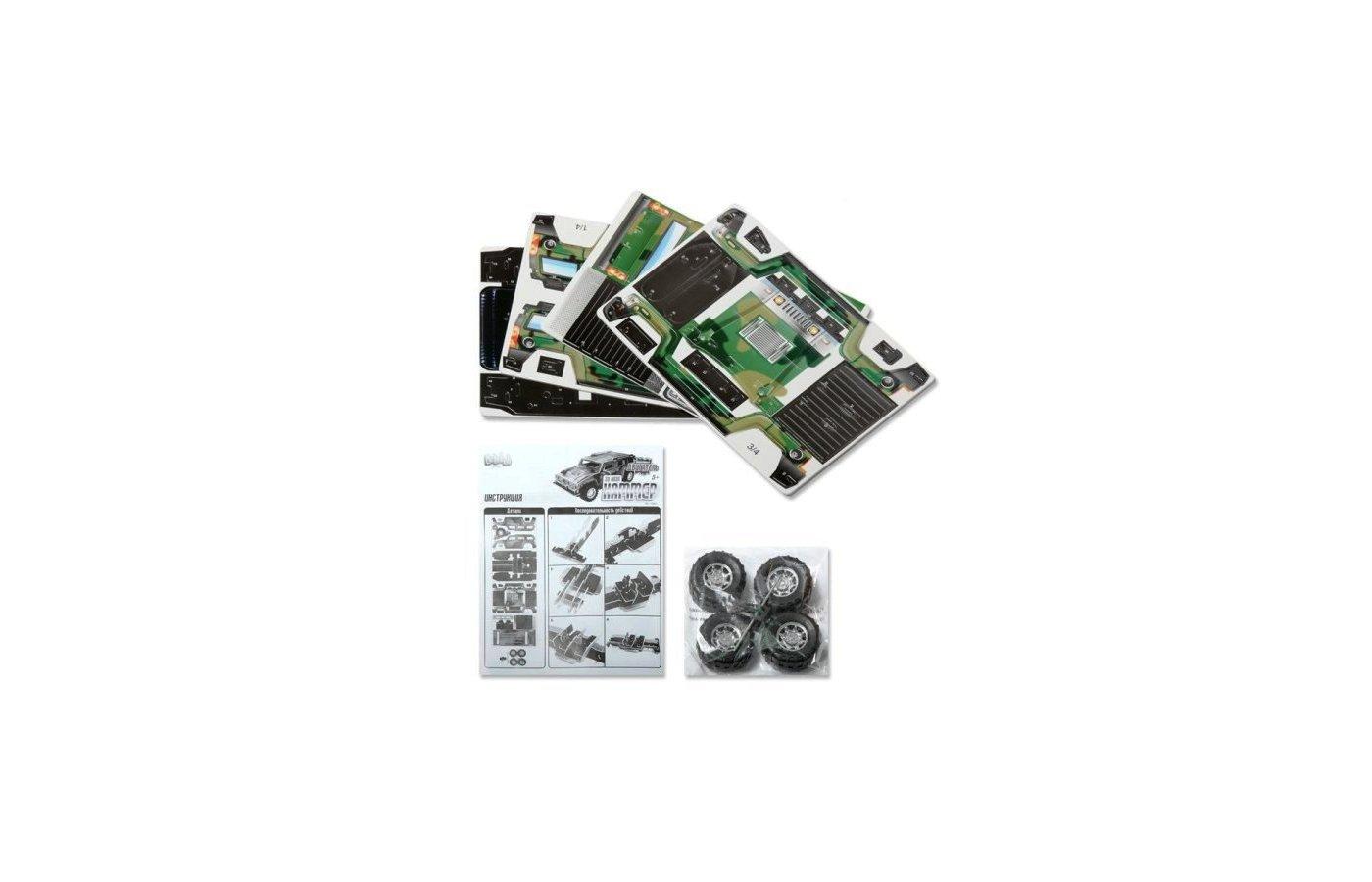 Конструктор Bebelot Basic ВВА0712-106 3D пазл Хаммер