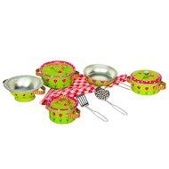 Игрушка Tin Set CH1202 Набор кухонной посуды