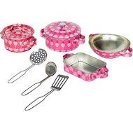 Фото Игрушка Tin Set CH1107 Набор кухонной посуды