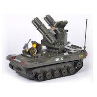 Фото Конструктор SLUBAN M38-B7000 Сухопутные войска. Секретная база