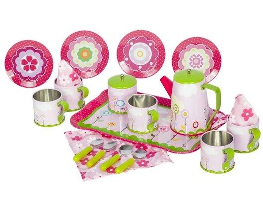 Игрушка Tin Set CH1379 Набор кофейной посуды