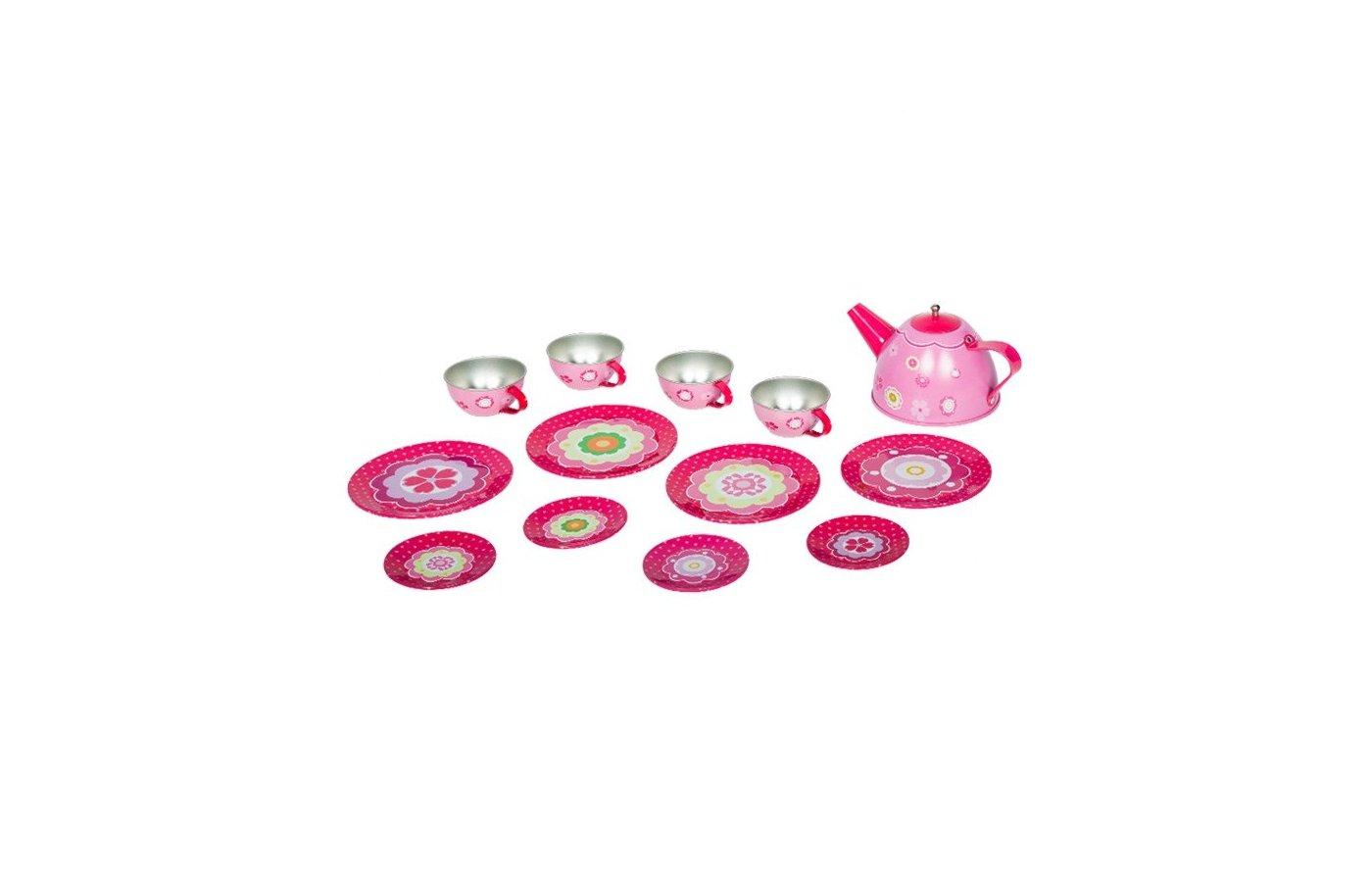 Игрушка Tin Set CH1361 Набор чайной посуды