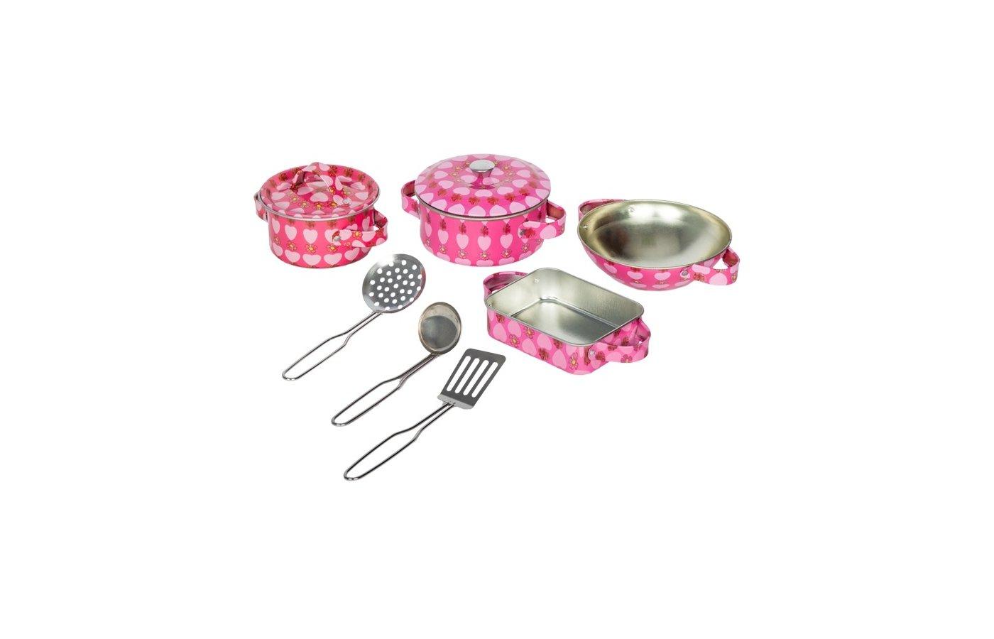 Игрушка Tin Set CH1107 Набор кухонной посуды