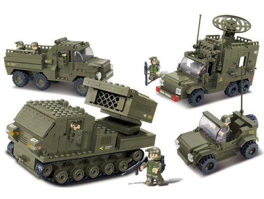 Конструктор SLUBAN M38-B0310 Сухопутные войска 2