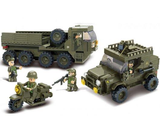 Конструктор SLUBAN M38-B0307 Сухопутные войска. Тайный десант