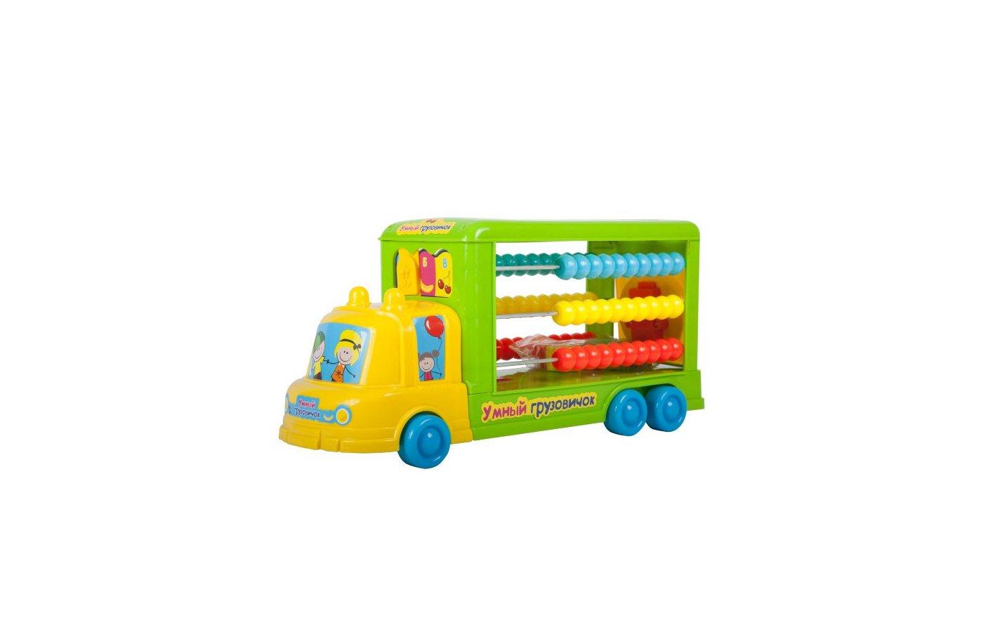 Игрушка Bebelot BEB1301-007 Игрушка сортер-каталка Умный грузовичок