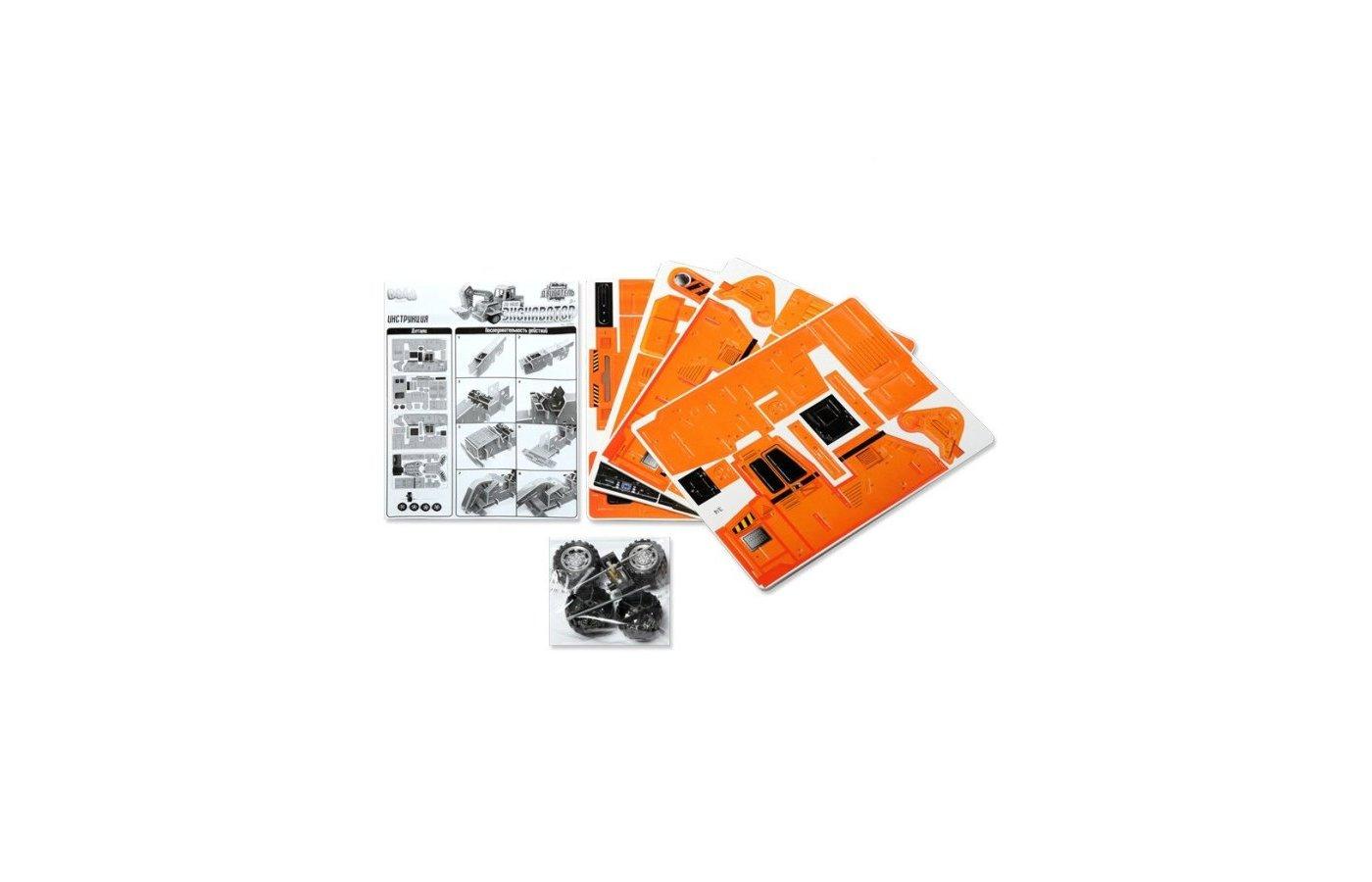 Конструктор Bebelot Basic ВВА0712-109 3D пазл Экскаватор