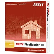 Фото Компьютерное ПО ПО ABBYY FineReader 10 Home Edition BOX