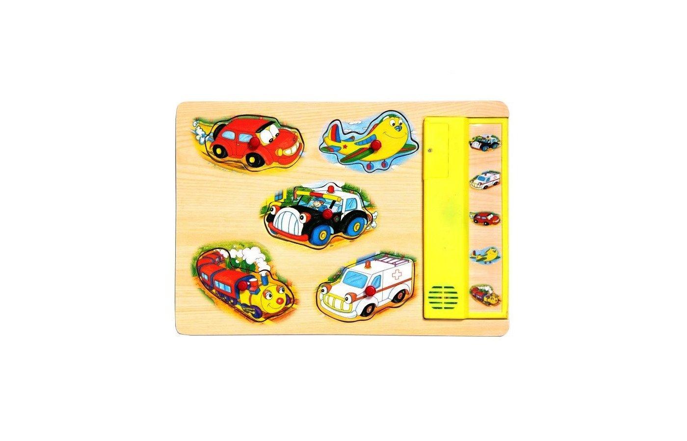 Игрушка Altacto M8020A Деревянная звуковая игрушка Транспорт
