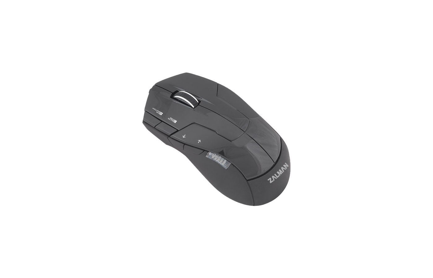 Мышь проводная Zalman ZM-M300 USB 2500dpi Gaming mouse 7x multi buttons optical black color