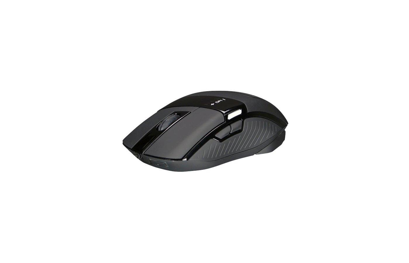 Мышь проводная Zalman ZM-M501R USB Gaming Mouse 4000dpi (Avago 3050) 9 buttons 4x LED illumination weight adjustmen