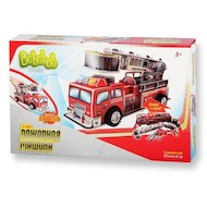 Конструктор Bebelot Basic ВВА0712-108 3D пазл Пожарная машина
