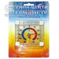 Термометр Термометровый завод ТББ оконный Биметаллический круглый