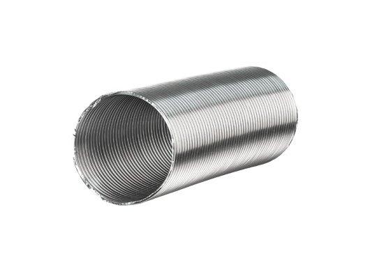 Аксессуар для в/о Воздуховод Алювент алюминиевый D130 мм (1-3м)