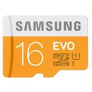Фото Карта памяти Samsung microSDHC 16Gb EVO Class 10 UHS-I + адаптер (MB-MP16DA)