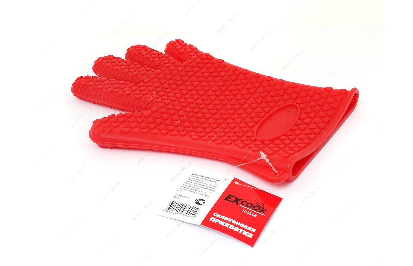 Текстиль кухонный EXCOOK H15368 Силиконовая прихватка