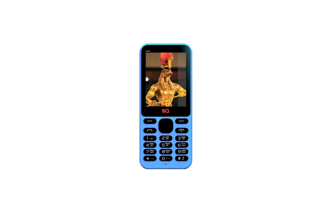 Мобильный телефон BQ BQM-2401 Luxor Blue