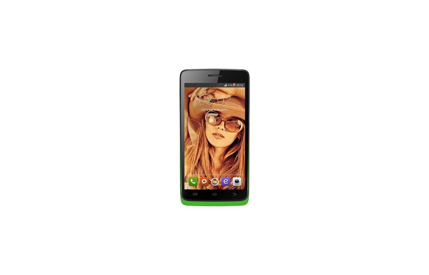 Смартфон BQ BQS-4707 Montreal Green