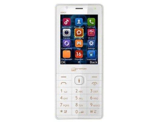 Мобильный телефон Micromax X2401 White Champagne