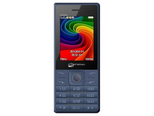 Мобильный телефон Micromax X2400 Blue