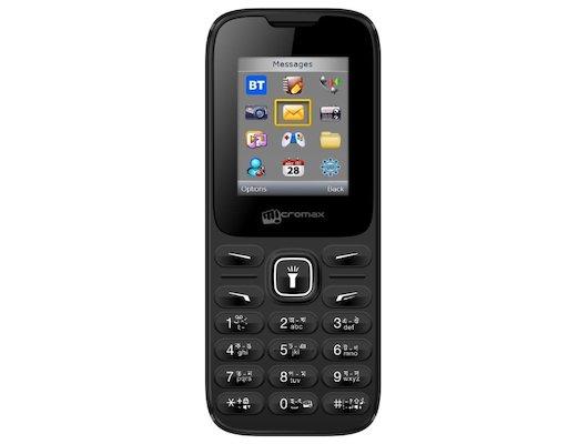 Мобильный телефон Micromax X401 Black