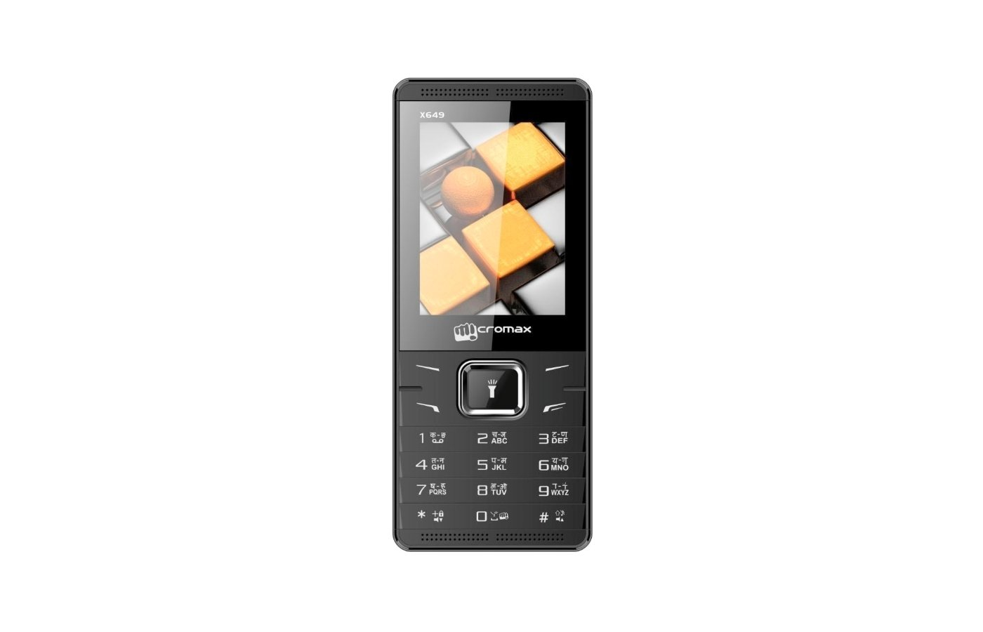 Мобильный телефон Micromax X649 Black