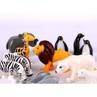 Фото Конструктор JDLT 5095 Зоопарк. В мире животных