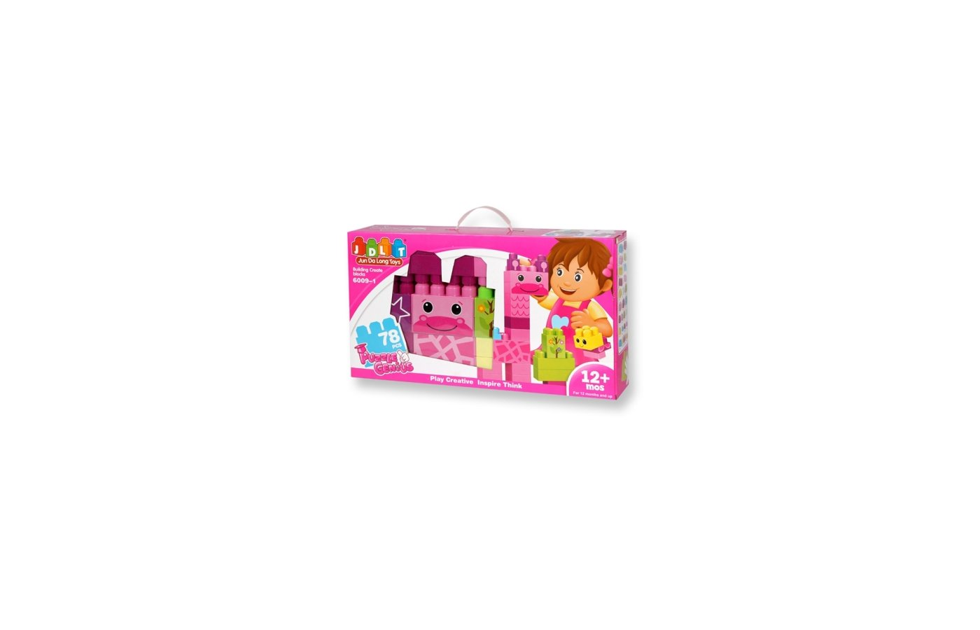Конструктор JDLT 6009-1 Пазлы для девочек