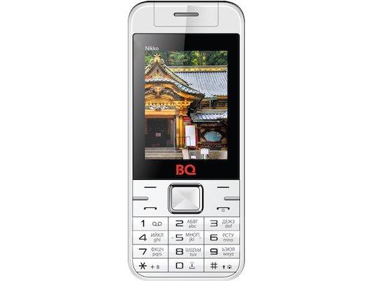 Мобильный телефон BQ BQM-2424 Nikko White/Red
