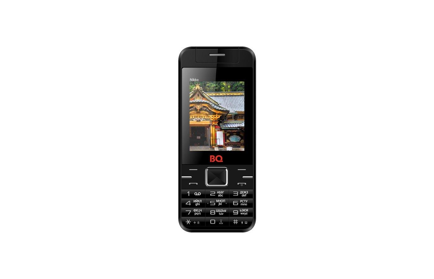 Мобильный телефон BQ BQM-2424 Nikko Black/Red