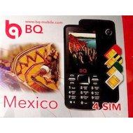Фото Мобильный телефон BQ 2408 Mexico Black (4SIM)